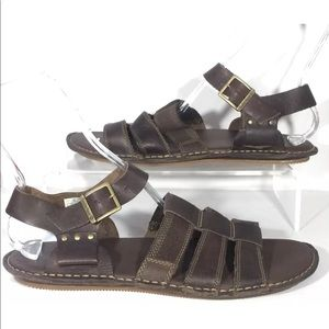 c8dfabf8ff Timberland Shoes - New Timberland Point Harbor Sandals Leather Men 12